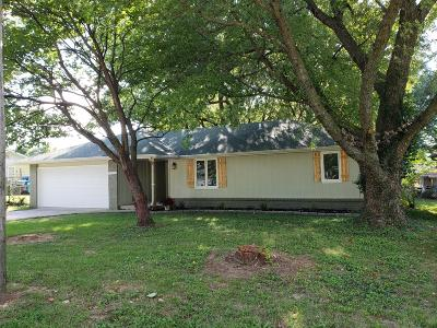 Springfield MO Single Family Home For Sale: $110,000