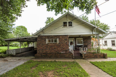 Monett Single Family Home For Sale: 107 & 105 Dairy Street