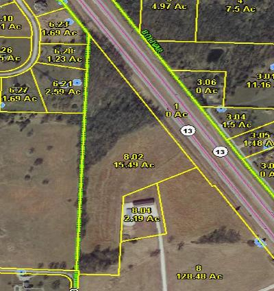 Bolivar Residential Lots & Land For Sale: North Hwy 13 - Mo