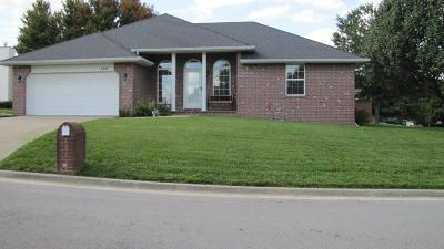 Nixa Single Family Home For Sale: 1257 West Batson Place