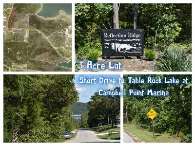 Residential Lots & Land For Sale: Tbd Reflection Ridge/Campbell Pt. Road