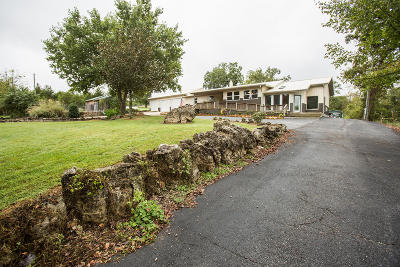 Shell Knob Single Family Home For Sale: 19305 Stallion Bluff Road