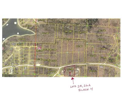Branson West Residential Lots & Land For Sale: Lot 25, 26a Block 4 Blue Water Village
