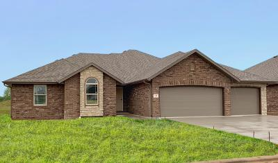 Nixa Single Family Home For Sale: 614 Eagle Park Drive #Lot 9