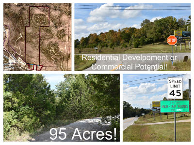 Merriam Woods Residential Lots & Land For Sale: Tbd 95 Acres Us Hwy 160