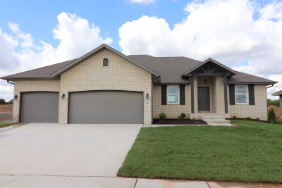 Nixa Single Family Home For Sale: 1659 North Old Castle Road #Lot 52