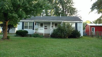 Mt Vernon Single Family Home For Sale: 603-605 East Kirby Street