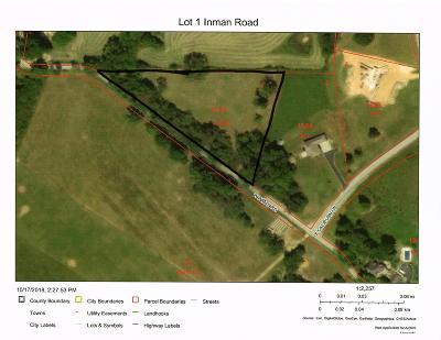 Nixa Residential Lots & Land For Sale: Lot 1 Inman Road #Lot 1