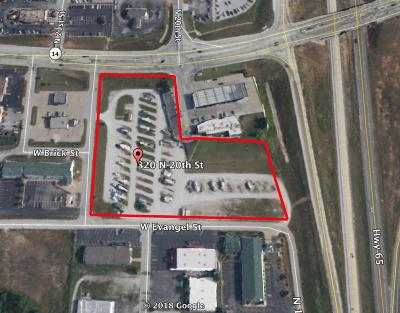 Christian County Commercial For Sale: 320 North 20th Street