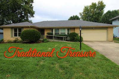 Springfield MO Single Family Home For Sale: $219,900