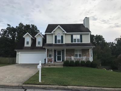 Joplin Single Family Home For Sale: 1826 Redbud Drive