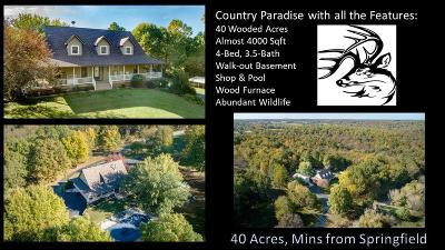 Greene County Single Family Home For Sale: 2902 West Farm Rd 88