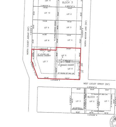 Polk County Residential Lots & Land For Sale: Lot 5, 6, &7 Block 3 Russell Subdivision