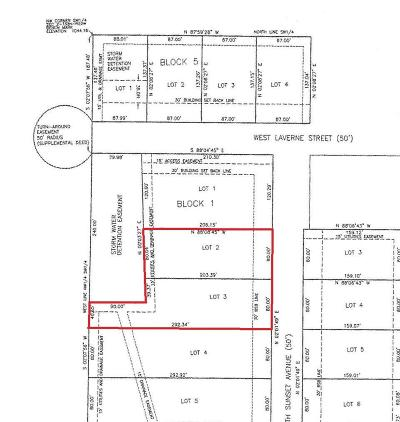 Bolivar Residential Lots & Land For Sale: Lots 2&3 Block 1 Russel Subdivision
