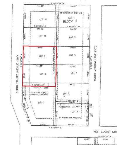 Polk County Residential Lots & Land For Sale: Lots 8 & 9 Block 3 Russel Subdivision