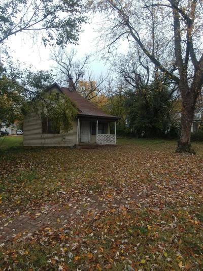 Springfield MO Single Family Home For Sale: $29,000
