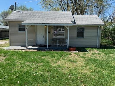 Springfield MO Single Family Home For Sale: $54,500