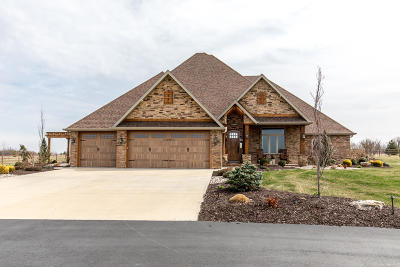 Christian County Single Family Home For Sale: 2112 Mo-413