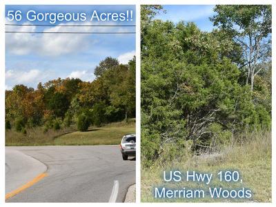 Merriam Woods Residential Lots & Land For Sale: Tbd 56 Acres Us Hwy 160