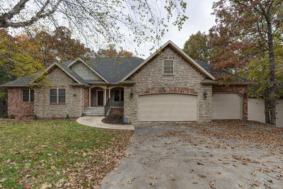 Branson Single Family Home For Sale: 237 Country Bluff Drive