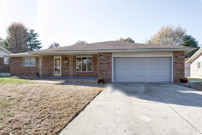 Springfield Single Family Home For Sale: 3305 North Weller Avenue
