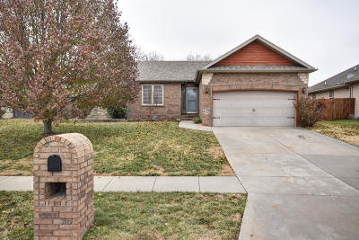 Nixa Single Family Home For Sale: 871 West Pembrook Avenue