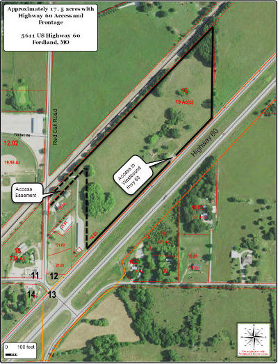 Webster County Commercial For Sale: 5611 Us-60