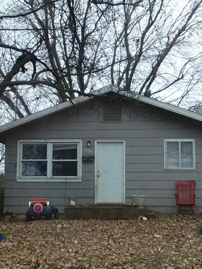 Springfield Single Family Home For Sale: 1634 East Nora Street