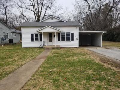 Monett Single Family Home For Sale: 414 West Cale Street