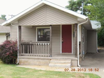 Springfield MO Single Family Home For Sale: $71,788