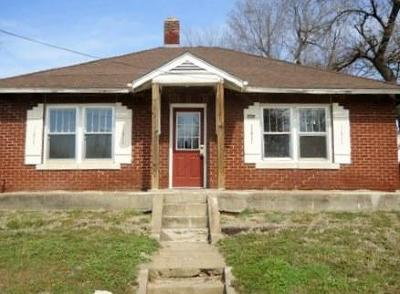 Springfield MO Single Family Home For Sale: $55,000