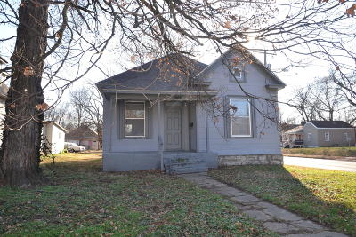 Springfield MO Single Family Home For Sale: $37,500
