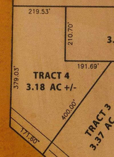 Residential Lots & Land For Sale: 29 Enterprise Drive #Tract 4