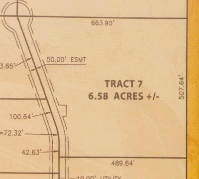 Residential Lots & Land For Sale: 29 Enterprise Drive #Tract 7