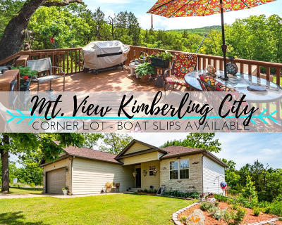 Kimberling City Single Family Home For Sale: 10 Homewood Lane