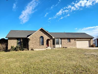 Single Family Home For Sale: 1445 South 601 Road