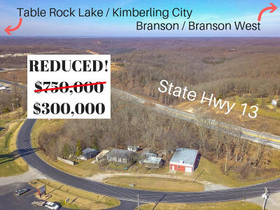 Stone County Commercial For Sale: 15345 Business 13
