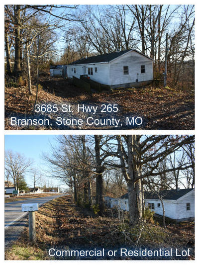 Branson  Residential Lots & Land For Sale: 3685 St Hwy 265