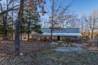 Branson West, Reeds Spring Single Family Home For Sale: 486 & 458 Boston Farms Road