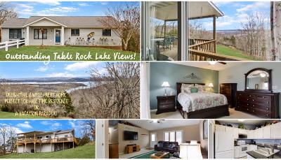 Branson West Single Family Home For Sale: 54 Golden View Court