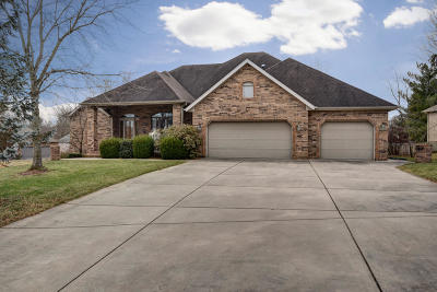 Springfield Single Family Home For Sale: 4296 East Crosswinds Place