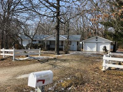 Marshfield Single Family Home For Sale: 6803 State Hwy Kk