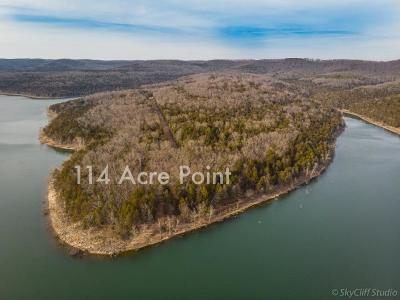 Cape Fair, Crane, Galena, Shell Knob, Cedar Creek, Walnut Shade, Blue Eye, Branson West, Indian Point, Kimberling City, Lampe, Reeds Spring, Ridgedale, Hollister, Merriam Woods, Rockaway Beach, Taneyville Residential Lots & Land For Sale: Tbd-114ac Stallion Bluff Road
