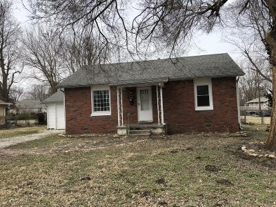 Springfield Single Family Home For Sale: 1667 North Hayes Avenue