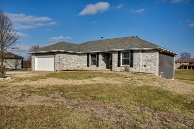 Nixa Single Family Home For Sale: 1604 Cody Road