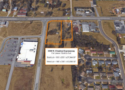 Greene County Commercial For Sale: 3308 West Chestnut (East Lot, Lease) Expressway