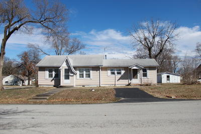 El Dorado Springs Single Family Home For Sale: 401 South Summer Street