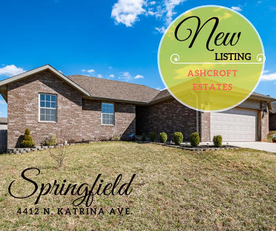 Springfield MO Single Family Home For Sale: $154,900