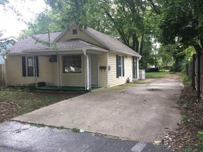 Springfield Single Family Home Active Short Sale: 811 North Park Avenue
