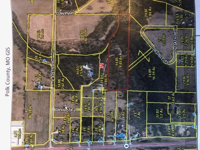 Bolivar Residential Lots & Land For Sale: 0000 South 133rd Road Road